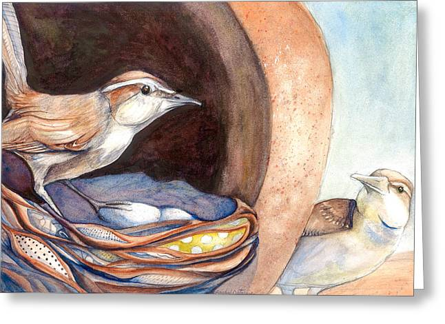 Jenny Wrens Greeting Card