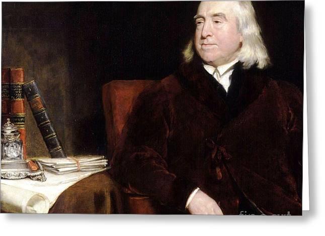 Jeremy Bentham Greeting Card