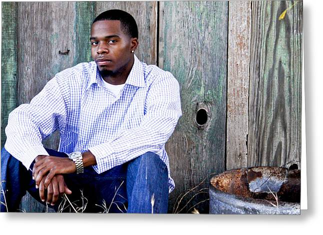 Jermaine_1 Greeting Card by Ivete Basso Photography