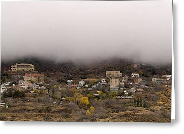 Jerome Arizona Beneath The Clouds Greeting Card