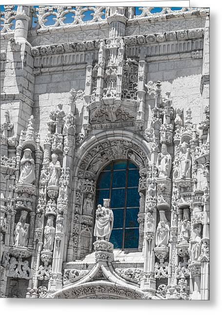Jeronimos Monastry Church Lisbon Greeting Card