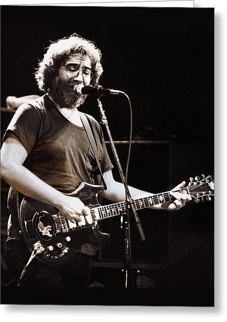 Jerry Garcia 1981 Greeting Card