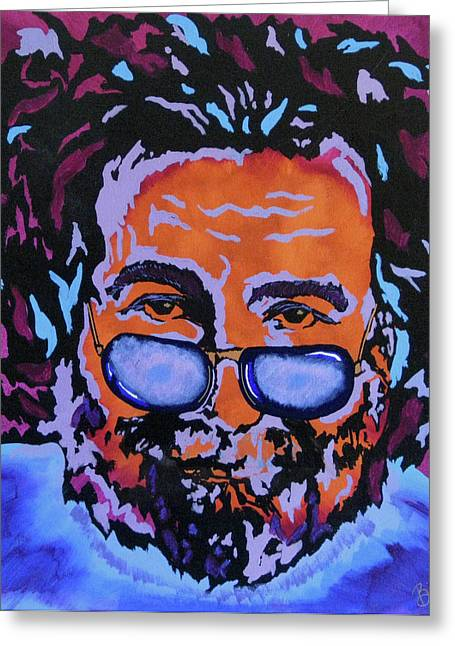 Jerry Garcia-it's A Me Thing Greeting Card