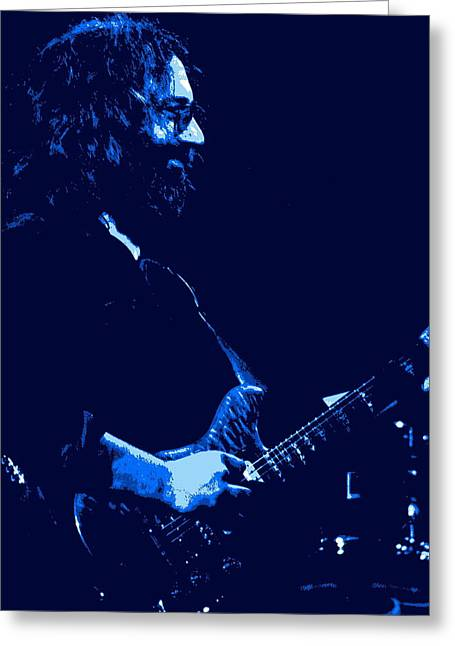 Jerry Happy At Winterland 2 Greeting Card