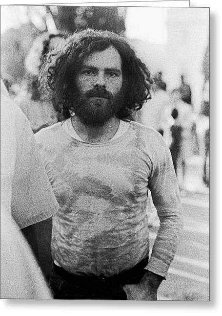 Jerry Rubin Greeting Card