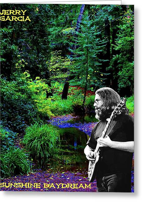 Greeting Card featuring the photograph Jerry's Sunshine Daydream by Ben Upham