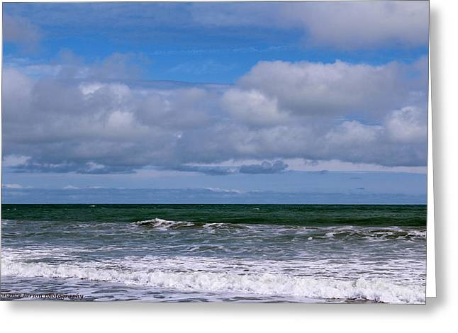Jersey Shore Greeting Card by Nance Larson