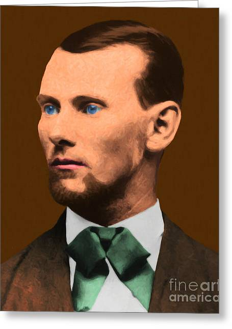 Jesse James 20130515 Greeting Card by Wingsdomain Art and Photography