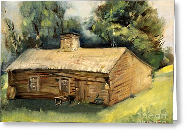 Jesse James Home 1940 Greeting Card