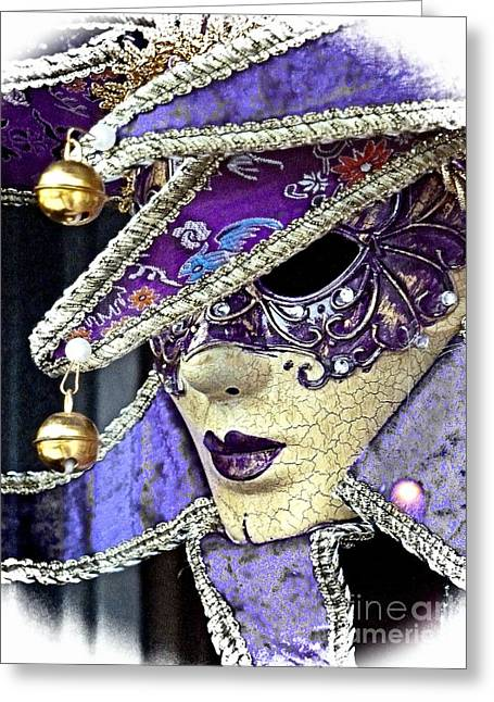 Jester Greeting Card by Lauren Leigh Hunter Fine Art Photography
