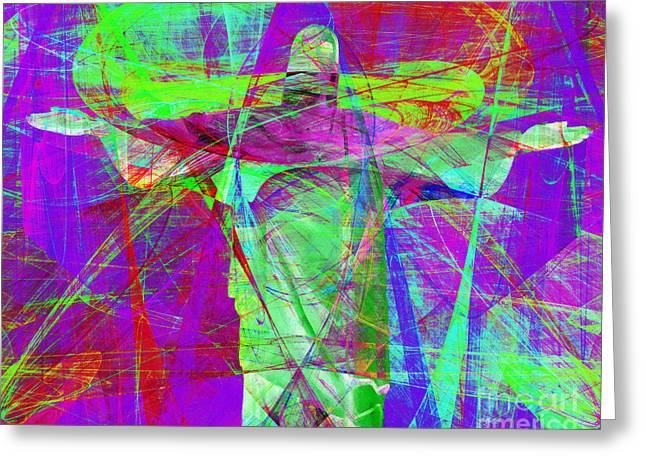 Jesus Christ Superstar 20130617m118 Horizontal Greeting Card by Wingsdomain Art and Photography