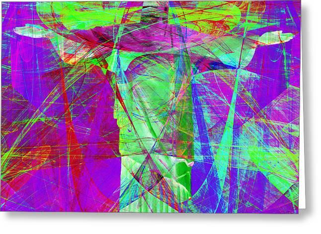 Jesus Christ Superstar 20130617m118 Square Greeting Card