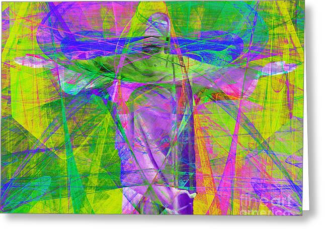 Jesus Christ Superstar 20130617p32 Horizontal Greeting Card by Wingsdomain Art and Photography