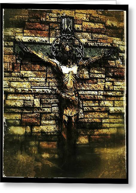 Jesus Coming Into View Greeting Card
