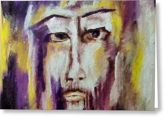 Jesus Greeting Card by Dragica  Micki Fortuna
