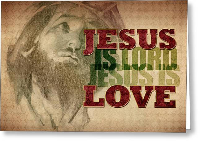 Jesus Love Greeting Card