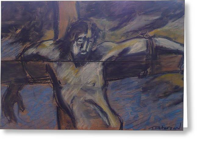 Jesus Remember Me Greeting Card by Todd  Peterson