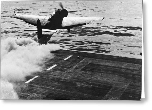Jet Assisted Take-off Greeting Card by Granger