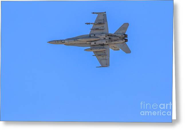 Jet Fighter Greeting Card by Robert Bales