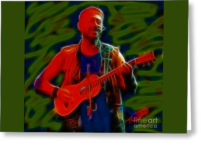 Jethro Tull-96-a21-fractal Greeting Card