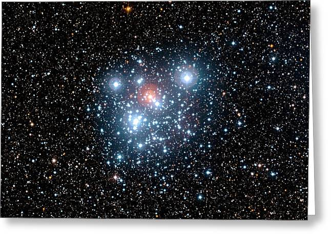 Jewel Box Star Cluster Greeting Card