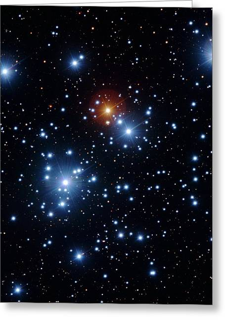 Jewel Box Star Cluster Greeting Card by Y. Beletsky/european Southern Observatory