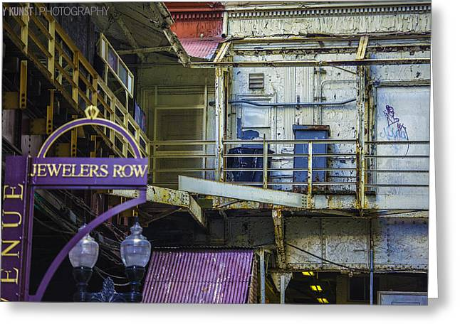 Jewelers Row Greeting Card