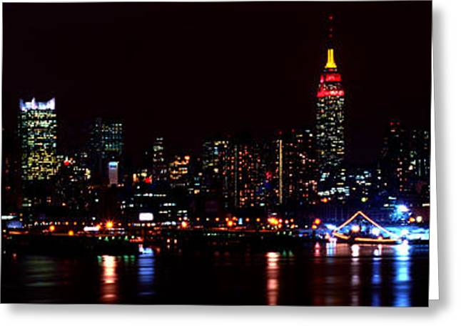 Jewels In The City  Greeting Card by Michelle Wiarda