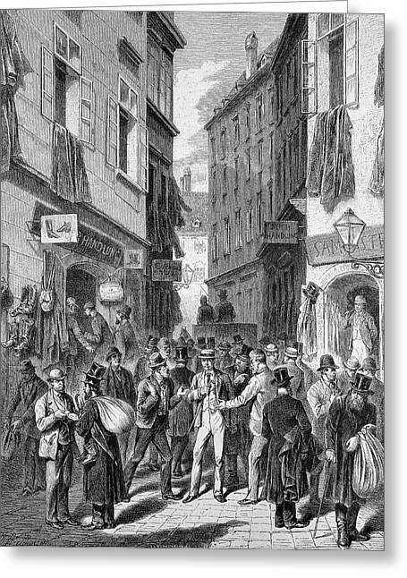 Jewish Street Greeting Card