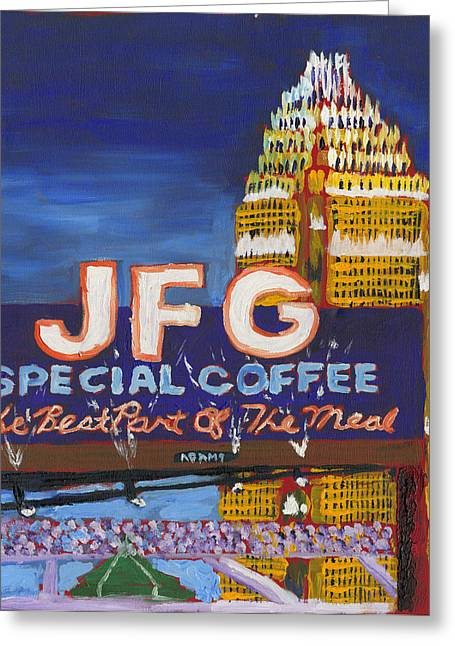 Jfg - Charlotte Greeting Card by Preston Sandlin