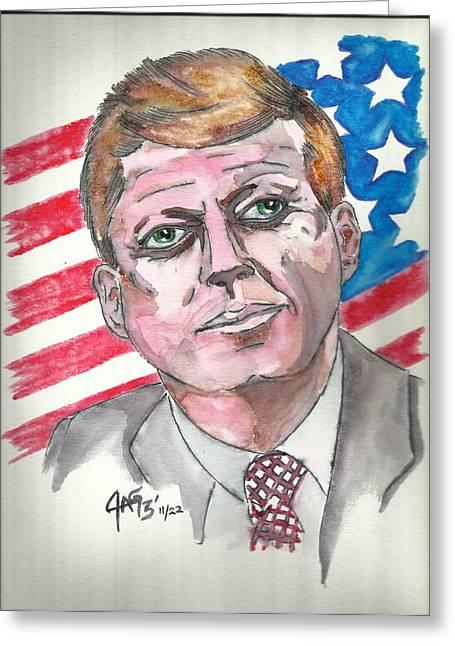 JFK Greeting Card