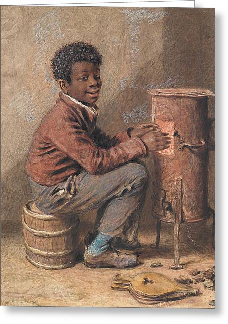 Jim Crow Greeting Card by William Henry Hunt