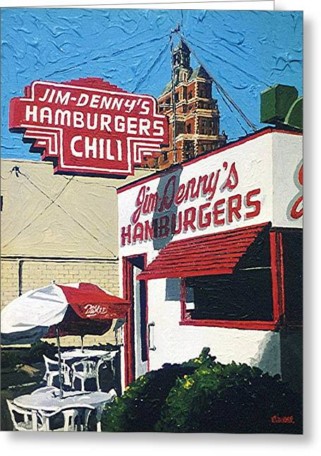 Jim Denny's Greeting Card by Paul Guyer
