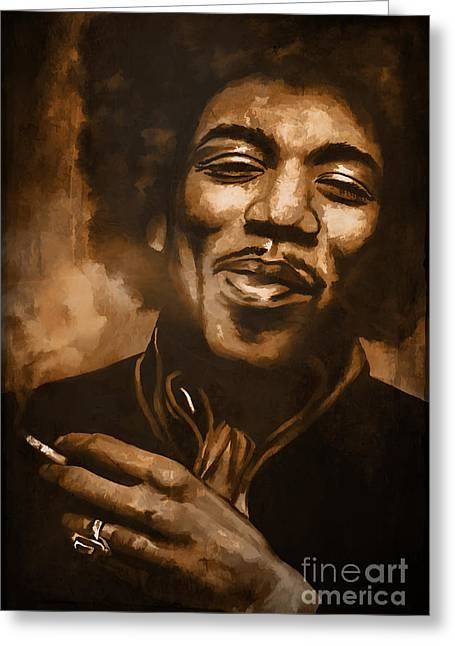 Jimi H. Greeting Card