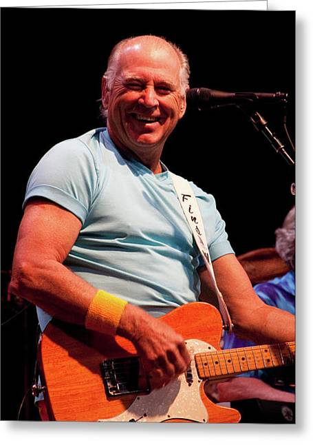 Jimmy Buffett 5626 Greeting Card by Timothy Bischoff
