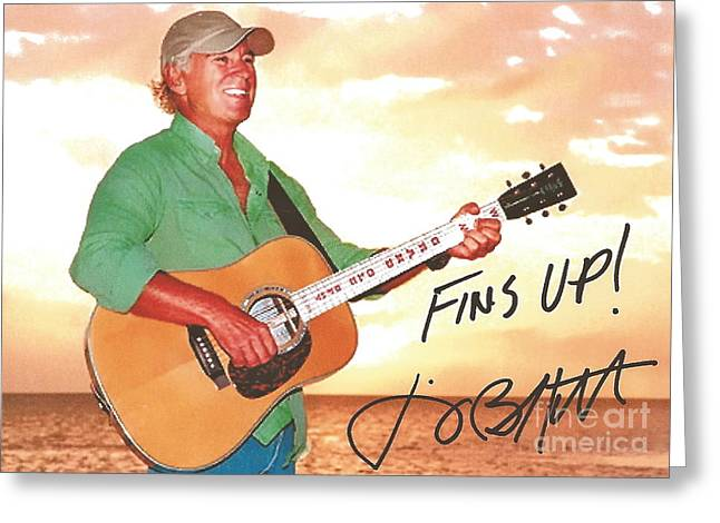 Jimmy Buffett Sunset With The Grand Old Opry  Greeting Card