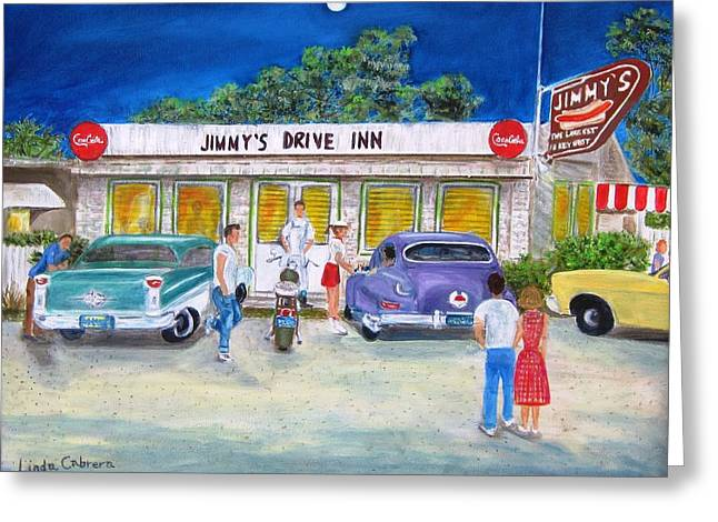 Jimmy's Drive Inn Greeting Card