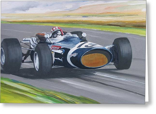 Jo Siffert    Cooper Greeting Card