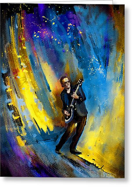 Joe Bonamassa 03 Greeting Card