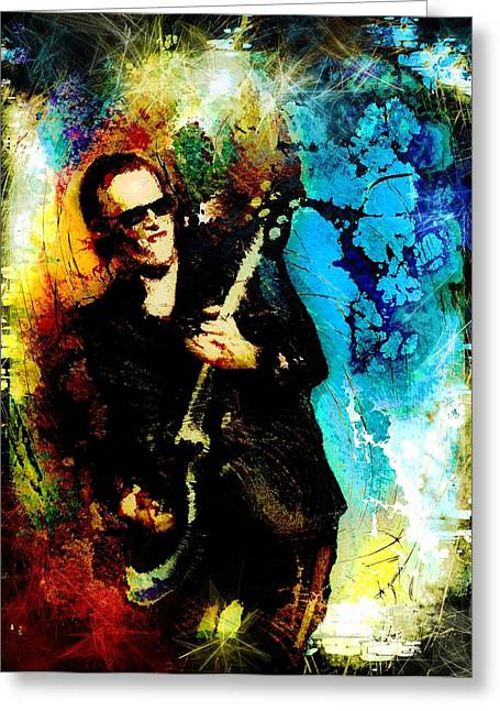 Joe Bonamassa Madness Greeting Card