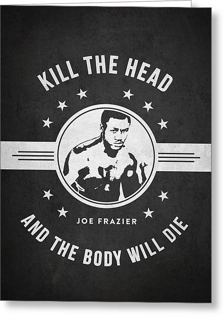 Joe Frazier - Dark Greeting Card