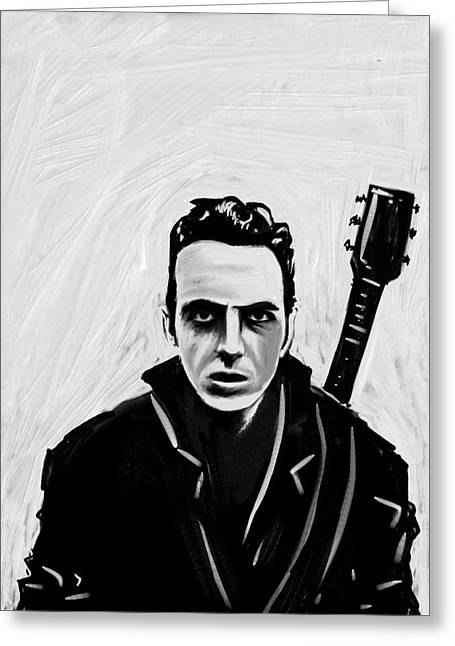 Joe Strummer Greeting Card