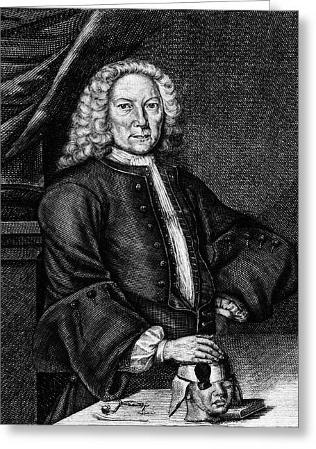 Johann Jacob Hartlieb Greeting Card by National Library Of Medicine