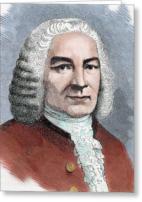 Johann Sebastian Bach (eisenach Greeting Card