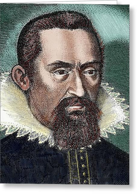 Johannes Kepler (1571-1630 Greeting Card by Prisma Archivo