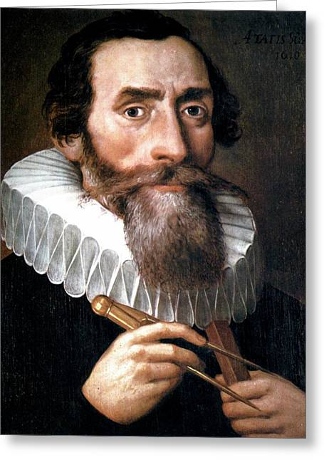 Johannes Kepler Greeting Card by Universal History Archive/uig