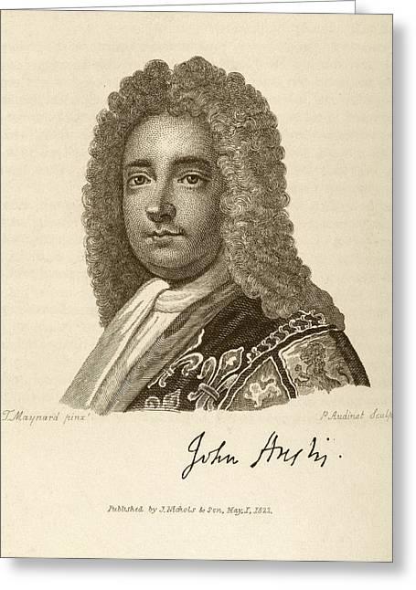 John Anstis Greeting Card