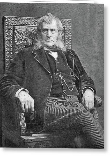 John Bigelow (1817-1911) Greeting Card