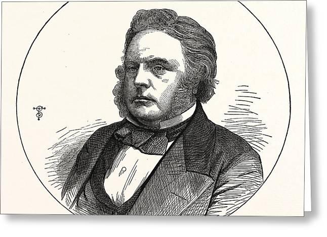 John Bright, Esq., M.p. For Birmingham. 16 November 1811 27 Greeting Card by English School