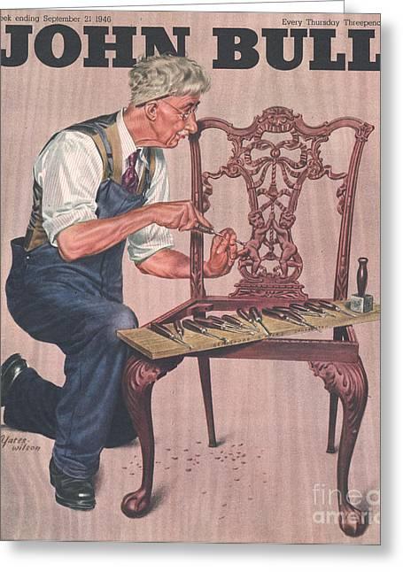 John Bull 1946 1940s Uk Diy Greeting Card by The Advertising Archives